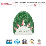 Caixa de lata de impressão verde com preço competitivo (T002-V1)