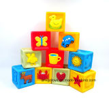Jouets de empilement éducatifs en plastique de blocs de DIY Deisgn construisant des jouets