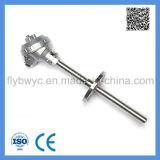 Industrieller Typ Montage-Thermoelement des Verbrauch-K mit örtlich festgelegtem Flansch 0-1000c