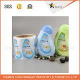 El paño lavable suave modificado para requisitos particulares del fabricante de la etiqueta tejido calza la escritura de la etiqueta de la ropa