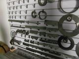 Il laser dell'acciaio saldato vede le lamierine circolari per il legno di taglio