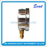 高品質圧力正確に測オイルによって満たされる圧力計熱い販売圧力測定