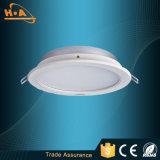La nueva iluminación ultra delgada LED de la promoción del producto abajo se enciende