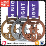 2017 Medalla del metal del deporte de la concesión con logotipo personalizado