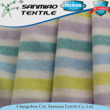 Ткань ткани Терри нашивки цены по прейскуранту завода-изготовителя покрашенная пряжей для одежды младенца