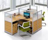 Prezzo inferiore L stazione di lavoro delle sedi della tabella due dell'ufficio di figura (HX-NCD144)