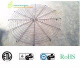 PVC cubierto, alambre soldado cromo galvanizado axial/protector industrial de la parrilla del ventilador del extractor