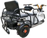 Motocicleta de triciclo com 3 rodas de proteção ambiental