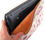 Sacchetto del sacchetto del manicotto del computer portatile del calcolatore del neoprene di Dropproof con il rivestimento del velluto