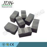 Het gegroefte Segment van het Hulpmiddel van de Diamant van het Type voor het Snijden van Spaans Graniet