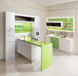 Nuovo armadio da cucina del PVC del MDF di stile 2016