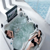 Monalisa Outdoor Massage Bathtub SPA met TV en Video