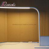 Lampe blanche moderne de Tableau de fer de DEL Matt pour l'étude