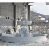 정원 훈장 (SY-F301)를 위한 백색 Carrara 대리석 분수