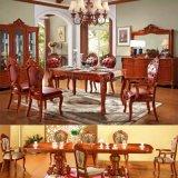 식탁 및 고전적인 식당 가구를 위한 의자 식사하기