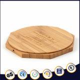팔각형 모양 대나무 물자 무선 비용을 부과 패드