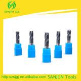 Laminatoi di estremità d'angolo di macinazione del raggio di CNC degli strumenti della taglierina dell'angolo del carburo di tungsteno