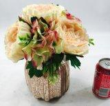 Las flores artificiales se dirigen las plantas de la decoración Potted