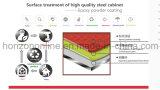 Beweglicher Metallaktenschrank mit u-Form-Aluminiumgriff