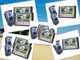Teléfono de la puerta del video del intercomunicador de la mano de 4 alambres con la tarjeta de la identificación