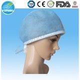 Protezioni cape chirurgiche elastiche con la parte superiore di ellisse per uso medico