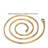 [18ك] نوع ذهب يصفح حارّ يبيع بالجملة مجوهرات نساء عقد طويلة كبّل