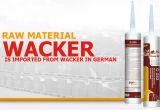Extensamente utilização e vedador durável do silicone