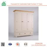 Улучшите для вися шкафа шкафа спальни одежд деревянного
