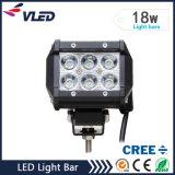 "12V 4 "" 1440lm 18W는 트랙터 LED 표시등 막대를 방수 처리한다"