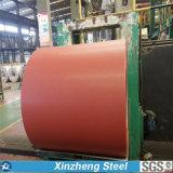 Prepainted bobina de aço galvanizada/Galvalume, bobinas de PPGI/PPGL, bobina de aço Prepainted