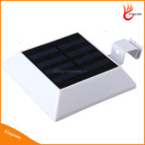 Luz psta impermeável ao ar livre do diodo emissor de luz do sensor de Montion da energia solar, luz solar da cerca, luz solar do jardim, lâmpada solar