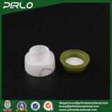 8g Branco Novo Design Plástico Parafuso Vazio Olho Creme Pratos Cosméticos Frascos