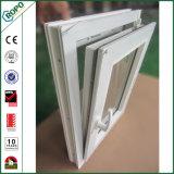 Volta Windows de Tilt& do vidro geado do PVC com tela do inseto