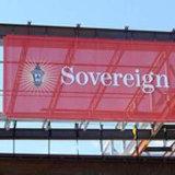 Горячее знамя барьера конструкции знамени сетки винила сбывания