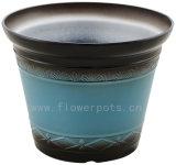光沢がある終わりの装飾的な植木鉢(KD8301-KD8303)