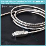Samsung 또는 Xiaomi/Huawei 인조 인간 전화를 위한 빠른 비용을 부과 봄 마이크로 USB 케이블