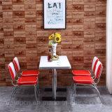 أثر قديم خمسينات [أمريكن] أسلوب مطعم كرسي تثبيت وطاولة ([سب-كت833])
