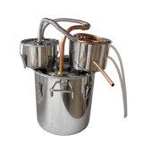 고품질을%s 가진 새로운 도착 제품 18L 구리 관 양조주 2중 냄비 포도주 증류기 물 증류기