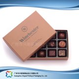 Cadre de empaquetage de cadeau de luxe de Valentine pour le chocolat de sucrerie de bijou (XC-fbc-018b)
