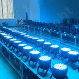 120X3w 단계 디스코 DMX RGBW LED 동위