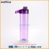 Bottiglia di acqua bevente di plastica viola di Joyshaker di sport