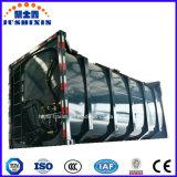 o ISO 29.5cbm de 40FT 20FT emplastra o recipiente do tanque do pó com Csc