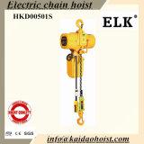 gru Chain elettrica 0.5ton/500kgs con l'amo fisso