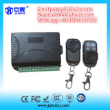 Sistema elétrico de controle remoto RF com transmissor e receptor