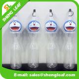 Logotipo de impressão personalizado Garrafa de suco Garrafas de plástico para bebidas