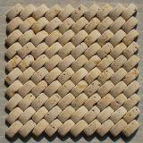 壁のタイルおよびクラッディングのための大理石のモザイク