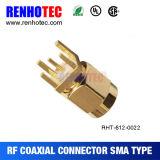 Connecteur mâle de la cloison étanche SMA pour le support de carte