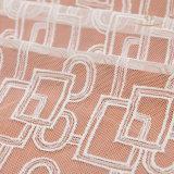 Wimper-Spitze-Gewebe der Dame-Nylon Embroidery Black Elastic ausgebogtes französisches