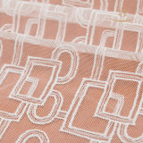 nylon Embroidery Black Elastic에 의하여 숙녀 부채 모양으로 만들어지는 프랑스 속눈섭 레이스 직물