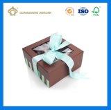 Contenitore di imballaggio stampato alta qualità del documento del cioccolato del fornitore della Cina (con la finestra libera del PVC)
